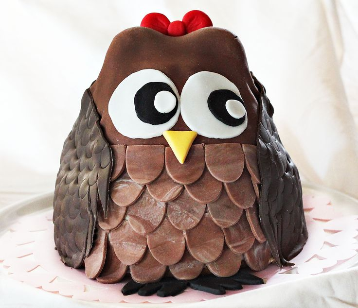 Cute owl cake :)