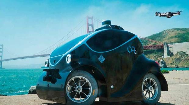 Autonomous Robot Police Cars Are Patrolling—Where Else?—Dubai