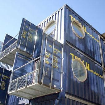 the modern shipping container resourceful people have converted shipping containers to homes