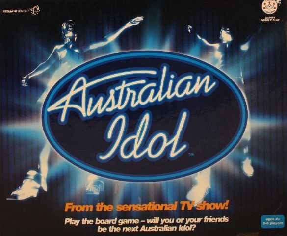Australian Idol Board Game - Used
