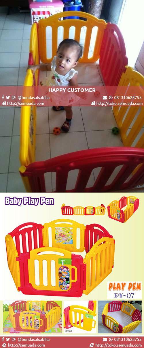 PAGAR MAIN BAYI PLAY PEN (PY-07) | sms/whatsapp: 081310623755  #bayi #baby #anak