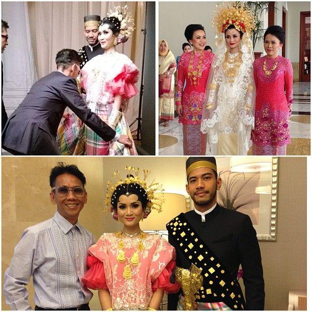 .@chairanijk   The man behind my beautiful wedding dresses, bang edohutabarat   Webstagram