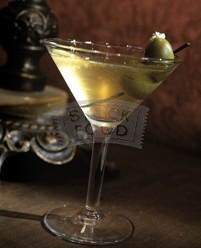 An offensively dirty martini...