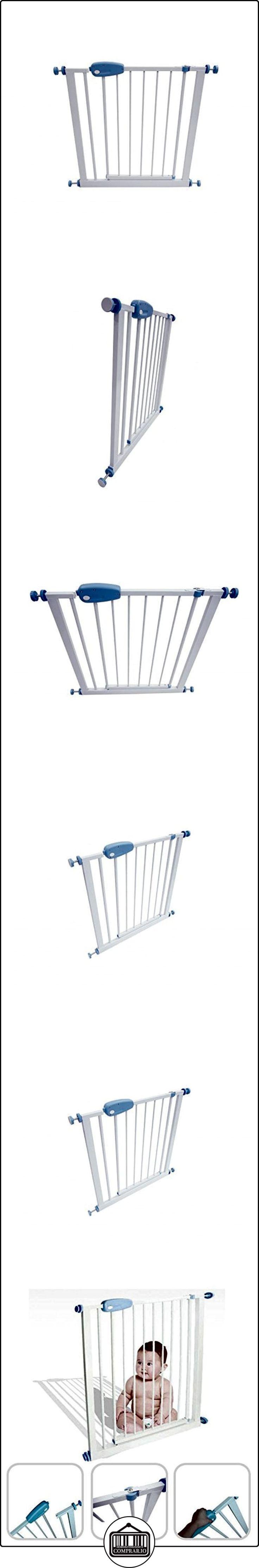 Babyfield - Barrera de seguridad de acero para niño, 74 a 87 cm - Seguridad en escalera, puerta y pasillo - Se abata en ambos sentidos  ✿ Seguridad para tu bebé - (Protege a tus hijos) ✿ ▬► Ver oferta: http://comprar.io/goto/B00OJ6WJ7S
