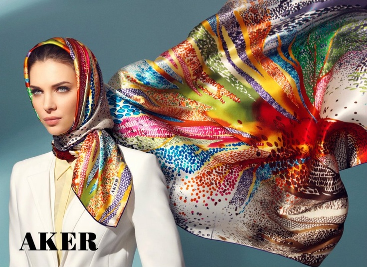 Turkish Hijab Style | ... its Spring-Summer 2012 Silk Scarf Collection - Turkish Hijab Fashion