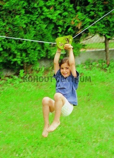 Lanová opičí dráha 15 m