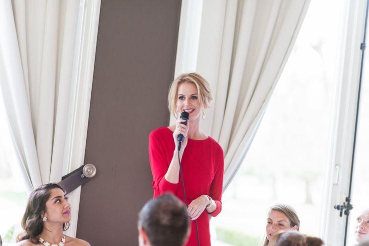 Jorien, wedding day management