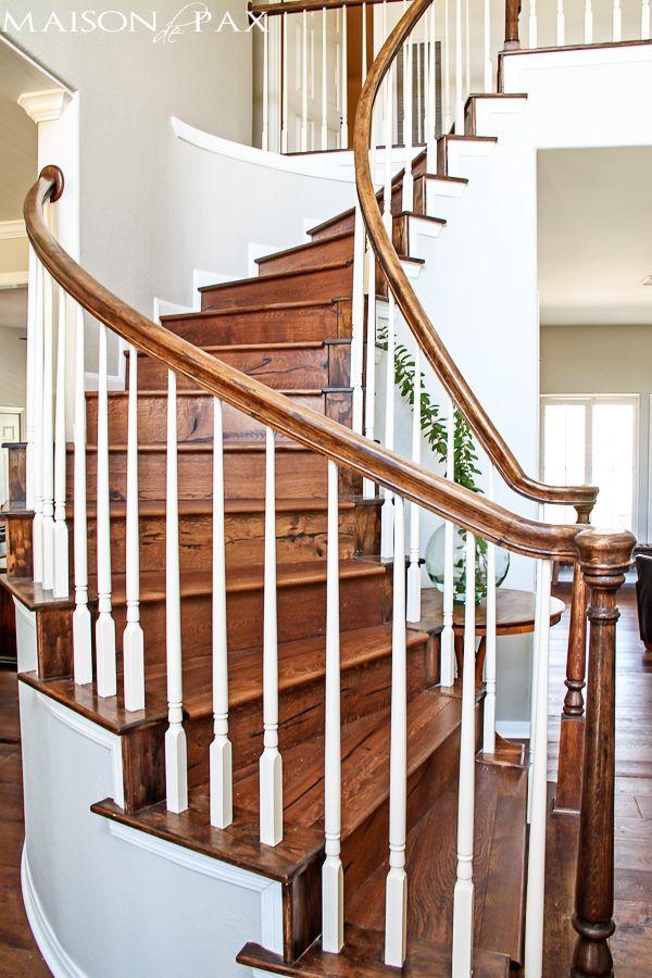 lindo ampla prancha pisos de carvalho europeus: o marrom perfeito e apenas um pouco rústico |  maisondepax.com