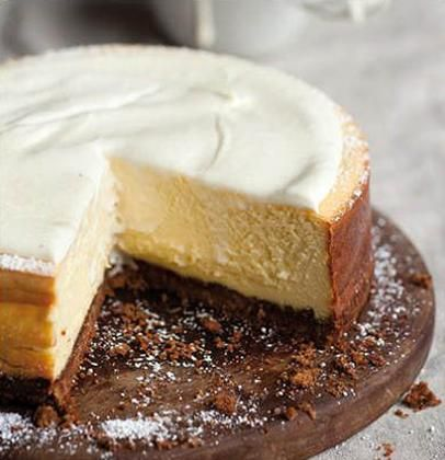 The classic cheesecake