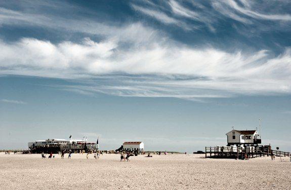 Der Strand in St. Peter-Ording, © TZ SPO