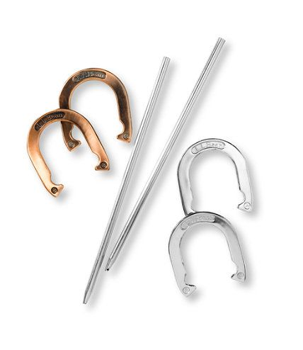 Horseshoe Set: Outdoor Games   Free Shipping at L.L.Bean $69