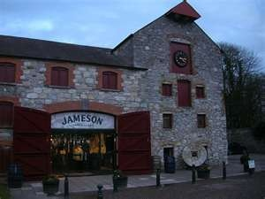 Jamisons Distillery in Cork, Ireland...got f'ed up after the tour in their pub here, summer 2001...