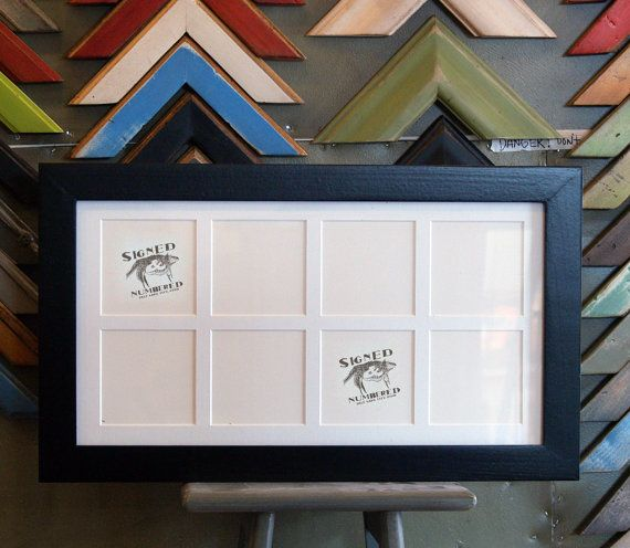195 x 105inch multipleopening picture frame by signedandnumbered 5225