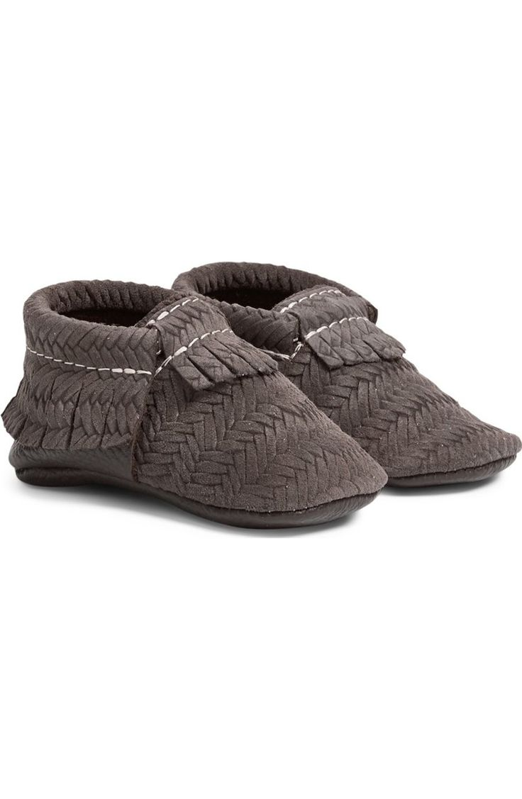 Obsessing over these woven leather moccasins for the little one! A grey color makes this Nordstrom Anniversary Sale find easy to pair with anything all season long.