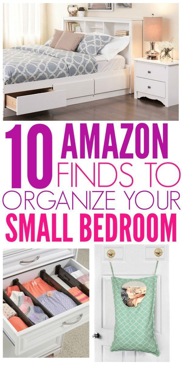 10 Amazon Finds That Will Organize Your Small Bedroom Small Room