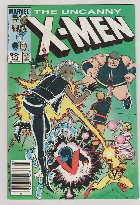 gold rings Uncanny X Men V    NM February   by RubbersuitStudios xmen comicbooks