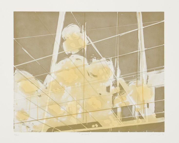 Glare (2011). Aquatint, Drypoint, Etching