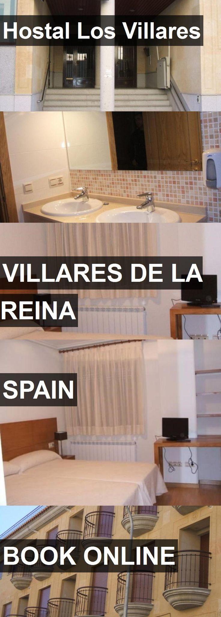 Hotel Hostal Los Villares in Villares de la Reina, Spain. For more information, photos, reviews and best prices please follow the link. #Spain #VillaresdelaReina #travel #vacation #hotel