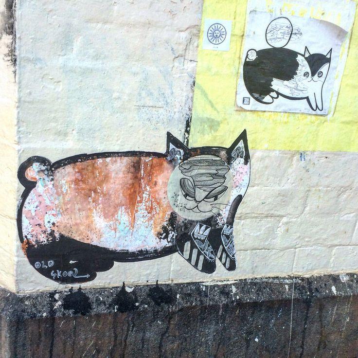 Little kitties on King street.