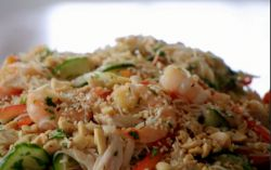 Chicken, Prawn & Noodle Salad