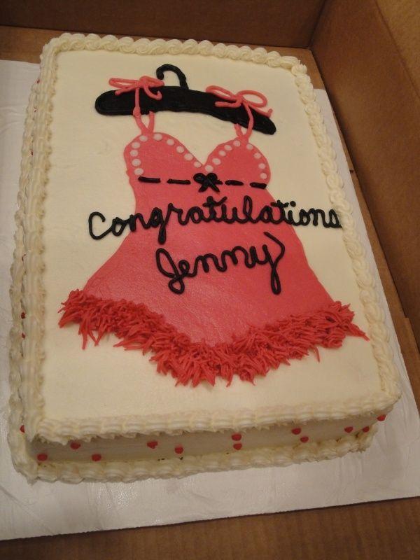 lingere shower cake | Cakes Wedding or lingerie shower