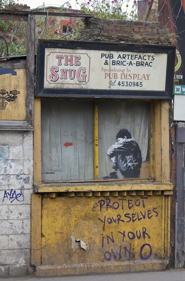 An old shop-front in Dublin. Image by Joe Donnelly,  Go To www.likegossip.com to get more Gossip News!