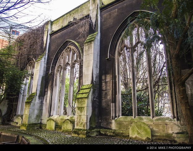 St Dunstan-in-the-East, London Bridge  #RePin by AT Social Media Marketing - Pinterest Marketing Specialists ATSocialMedia.co.uk