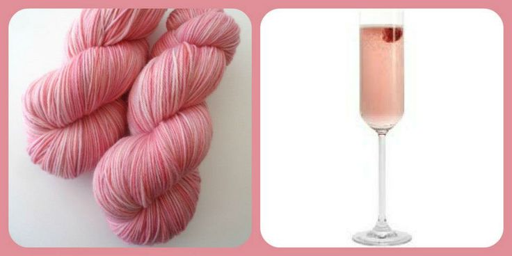 Champagne Cocktail - Summer Cocktails | Red Riding Hood Yarns