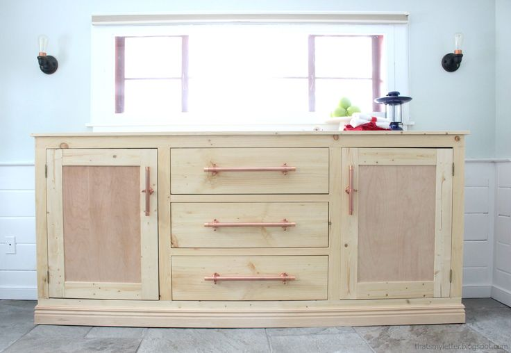 Ana White | Build a Extra Long Buffet Cabinet | Free and Easy DIY Project and Furniture Plans