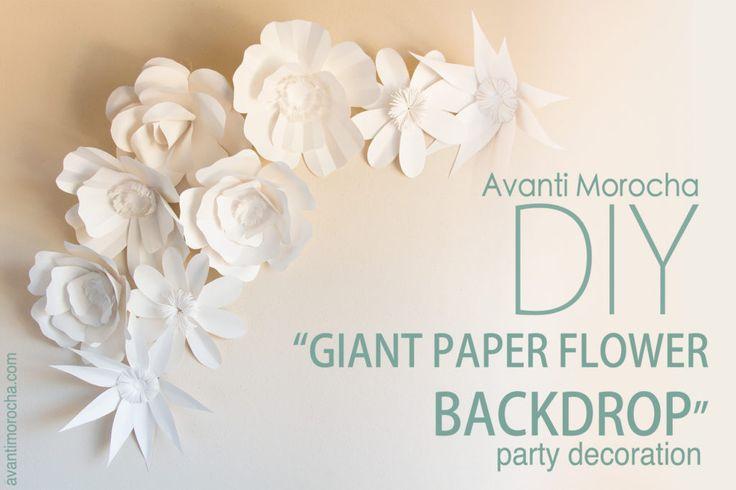 DIY Giant Paper Rose – AvantiMorocha Blog