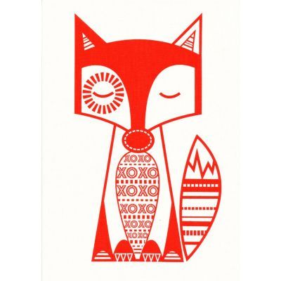 Finn McTrickster Red-Orange Craft Panel