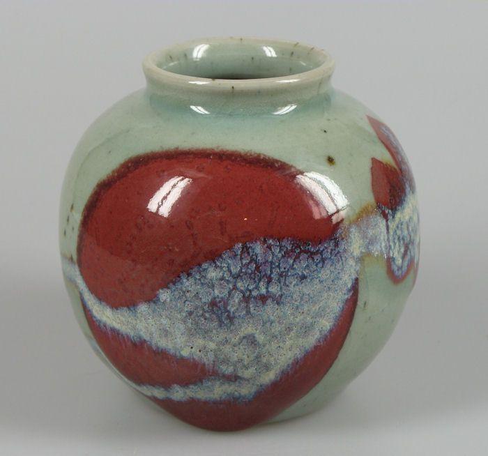 Leo Martens art pottery vase. nl