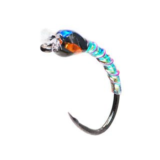 Oil Slick Buzzers, Fly Fish Food -- Fly Tying and Fly Fishing