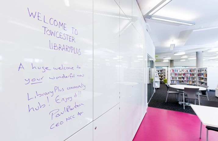 Congratulations On A Fabulous New Library Demcointeriors
