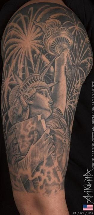 1000 images about firework tattoos on statue