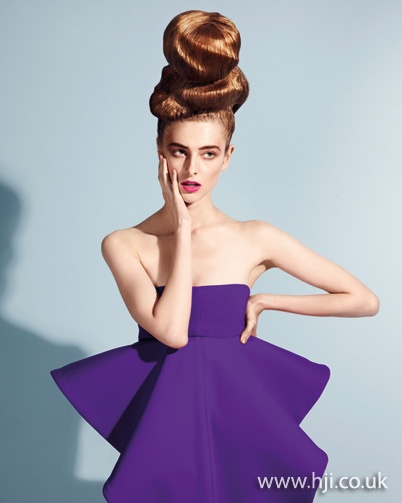 Photo of 2011 updo abstract hairstyle