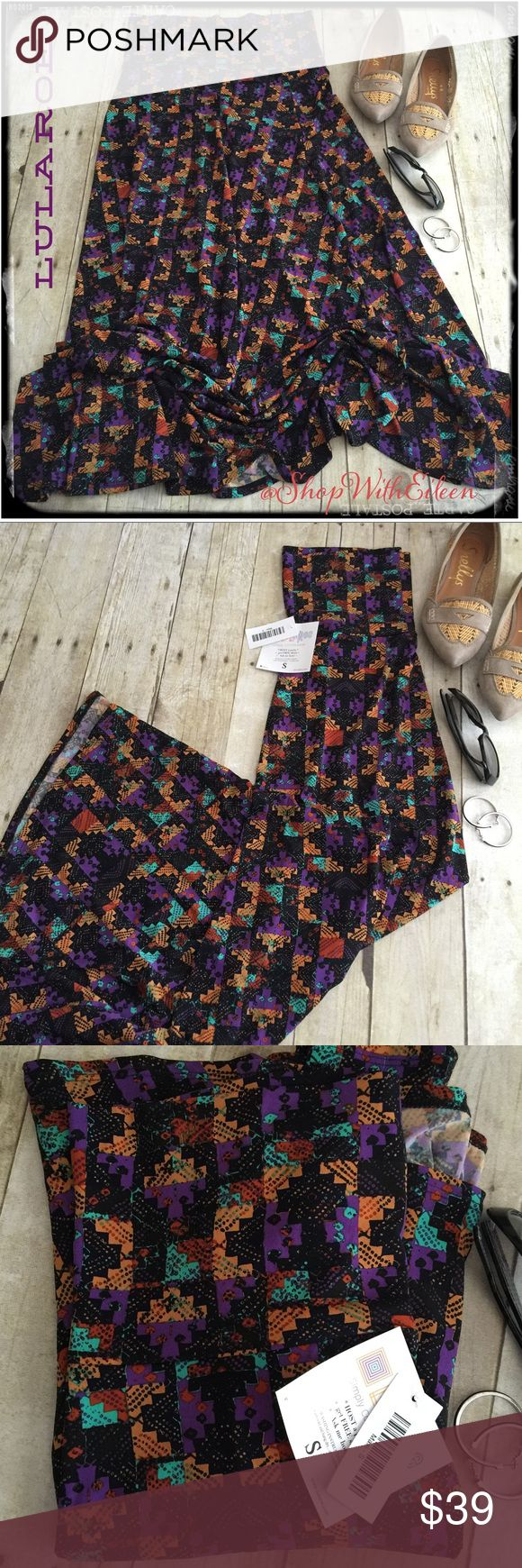 🆕 Lularoe PUZZLE AZTEC PRINT MAXI skirt! 🆕Lularoe PUZZLE AZTEC PRINT MAXI skirt! THE SKIRT THAT STARTED IT ALL! The Maxi skirt is a go-to piece for the woman who wants to be comfortable throughout the day but still likes to look her best. It's perfect for the woman whose demanding day requires function and style from her wardrobe. The LuLaRoe Maxi Skirt can easily be worn while playing on the ground with kids and transitions effortlessly to a night on the town! It can be worn MANY ways…