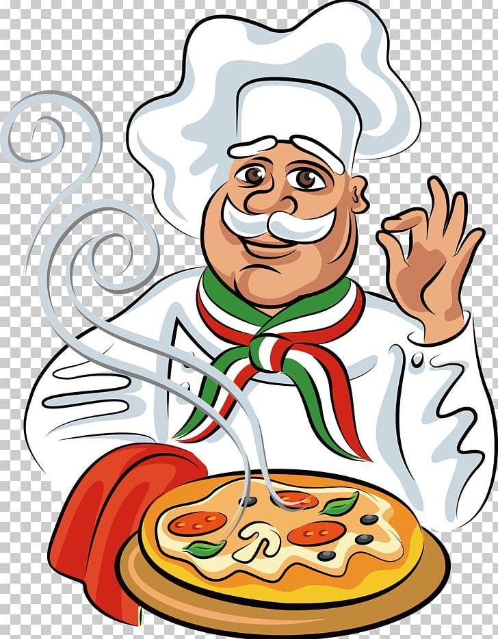 Pizza Italian Cuisine Chef Cook Png Cartoon Cartoon Character Cartoon Eyes Chef Cook Pizza Cartoon Pizza Vector Cartoon Chef