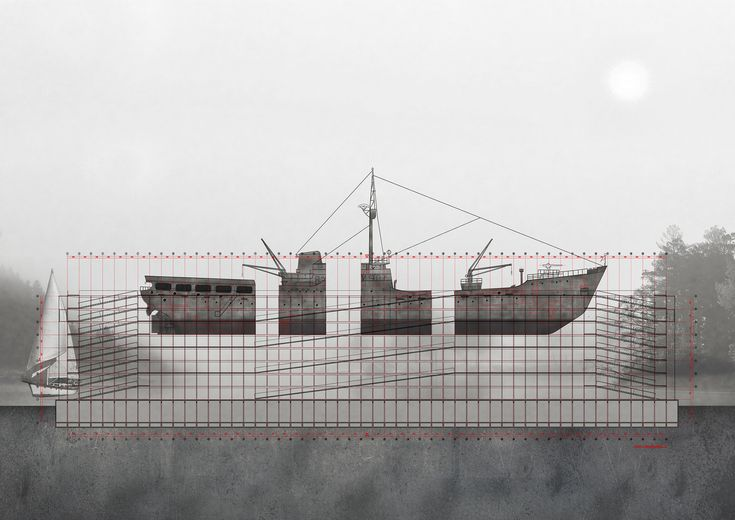 Galería de Museo de la construcción naval, gran ganador del Concurso Nacional de Proyectos de Título 2016 - 22