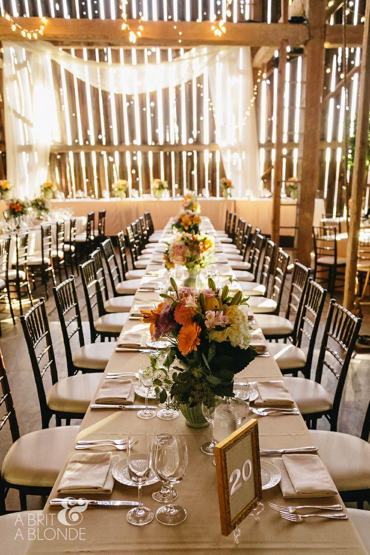 Rustic Fall table setting!