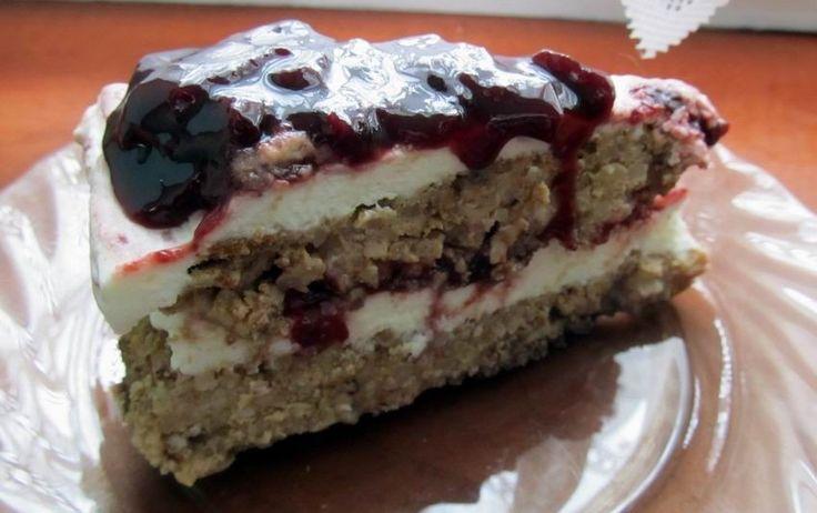 mascarponés köles torta