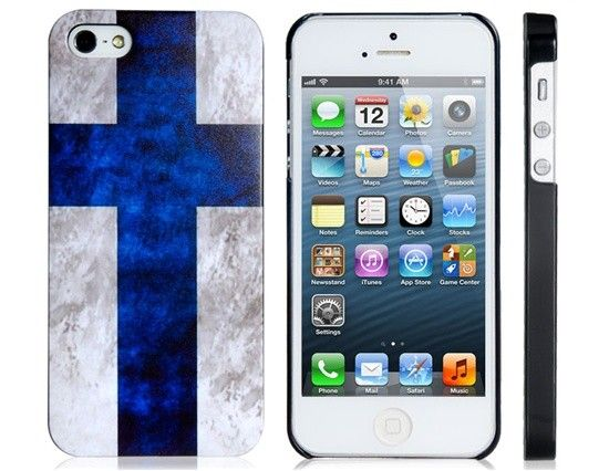 #Finland Flag Print Matte Protective Case for iPhone 5 via monabello - iPhone Cases. Click on the image to see more!