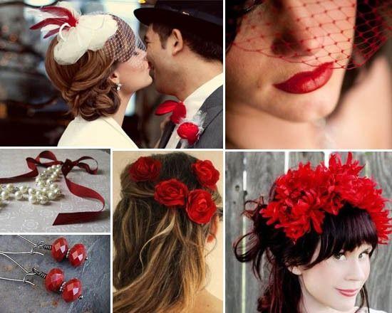 15 best Rot Hochzeit images on Pinterest   Red wedding, Wedding ...