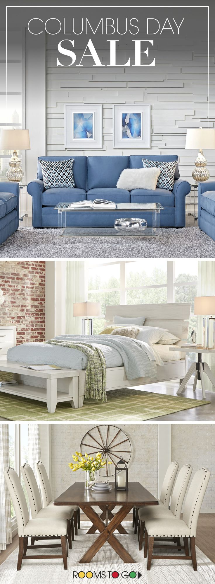 Looking For The Best Furniture Deals? Visit Rooms To Go Now, And Save On ·  Furniture DealsBest FurnitureColumbus Day SaleFarmhouse ...