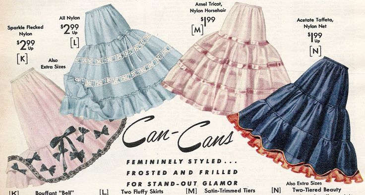 1950's Petticoat History & How to Make Them Fluffy
