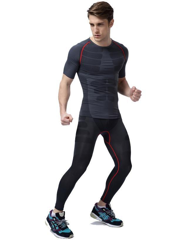 Pin By Guan Yi Wu On Pose Sporty Outfits Men Gym Wear Men Running Outfit Men