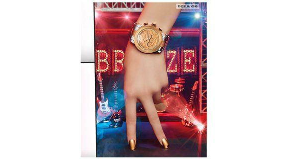 Γυναικεία ρολόγια Breeze Golden Crust 2014-2015 - http://egynaika.gr/moda/aksesouar/ginekia-rologia-breeze-golden-crust-2014-2015/