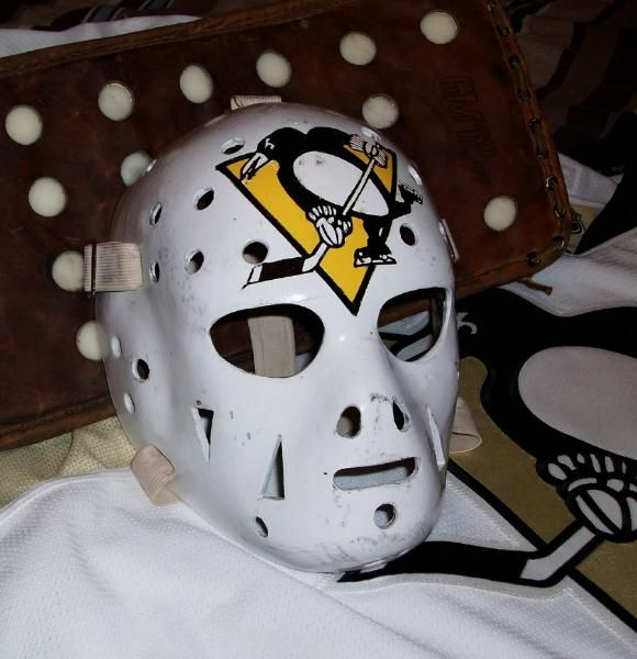 gary innes vintage goalie masks tom connauton