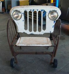 funny chairs on Pinterest | Chairs, Old Garden Tools and Swing Chairs