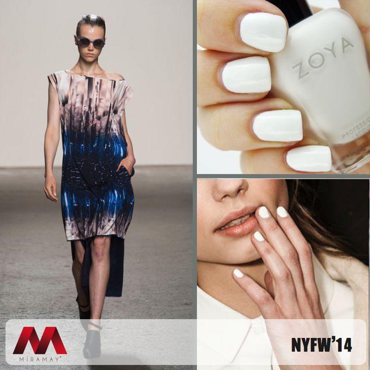 NYFW 2014'de Maria Cornejo'nun gözalıcı tasarımlarına, zarafetin temsilcisi Zoya Purity eşlik etti.